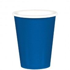 Bright Royal Blue Cup - Paper - 266ml
