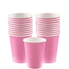 NEW PINK 266ML PAPER CUP