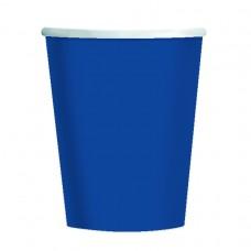 CUP 266ml s/c:navy flag blue