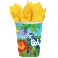 Jungle Animals Paper Cups 266ml