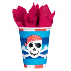 Pirates Treasure Paper Cups 266ml