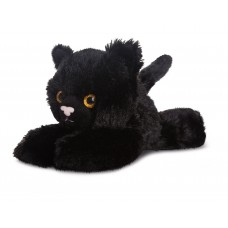 Mini Flopsie - Onyx All Black Cat 8In
