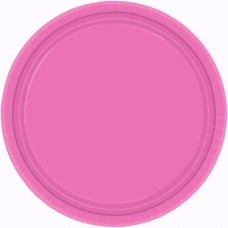 PLATE 22.8cm HiCt s/c:b pink