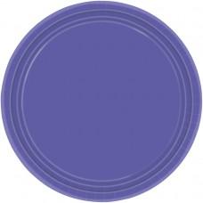 New Purple Paper Plates 22.8cm