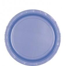 Pastel Blue Paper Plates 22.8cm
