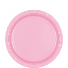 New Pink Paper Plates 22.8cm