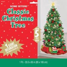 Classic Christmas Tree scene setter Add on