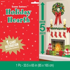 Holiday Hearth Plastic scene setter add ons