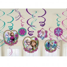 Disney Frozen 12 Hanging Swirls