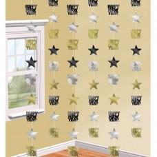 DEC string:Star Happy New Year