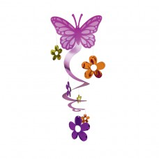 Butterfly Spiral Decoration