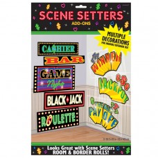 Casino Signs Scene Setter Add-Ons