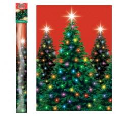 Christmas Trees Room Roll