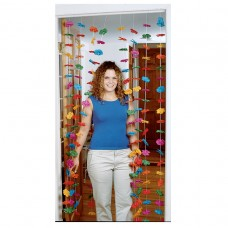 Luau Flower Door Curtain