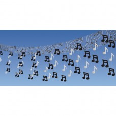 Rock & Roll Foil Ceiling Decoration