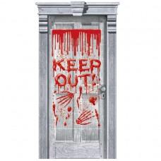 DOOR DEC:GORE-DRIPPING BLOOD