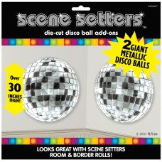 70's Disco Metallic Disco Ball Add-ons