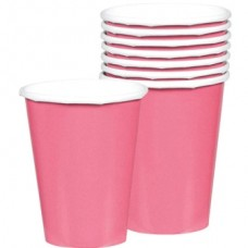New Pink Paper Cups 266ml