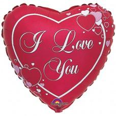 18IH:LOVE SCRIPT HEARTS (RED)