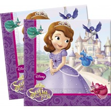 Sofia The First Napkins Two-Ply Paper 33x33cm