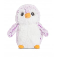 Pompom Penguin Purple 6In
