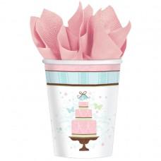 Blushing Bride Paper Cups 266ml