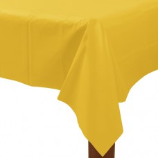 TABLECOVER plas rect:yellow ss