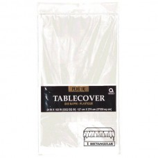 Clear Plastic Tablecover
