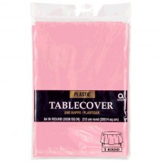 TABLECOVER plas rnd:new pink