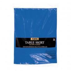 Bright Royal Blue Tableskirt