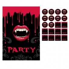 Fangtastic Postcard Invitations