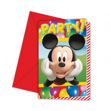 INVITE lic:MICKEY PARTY TIME