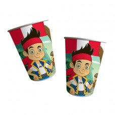 Jake & Neverland Pirates Paper Cups 200ml