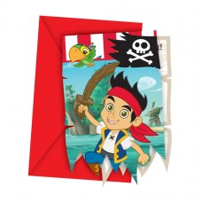 Jake & Neverland Pirates Invitations & Envelopes