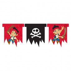 Jake & Neverland Pirates Die-Cut Banner