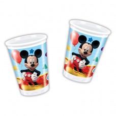 Playful Mickey Plastic Cups