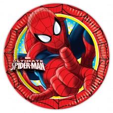 Spiderman Paper Plates