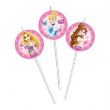 Princess Glam Medallion Straws