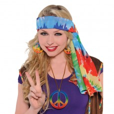 60`s Hippie Headscarf