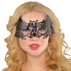 Black Filigree 001 Mask