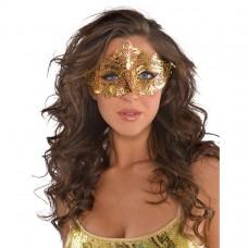 Gold Filigree Mask
