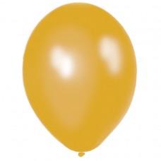 BALLOON pk50 27.5cm met:GOLD