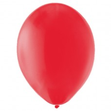 BALLOON pk100 12.5cm Poppy Red