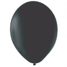 BALLOON pk100 12.5cm Ebony