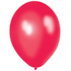 BALLOON pk100 12.5cm:pass red
