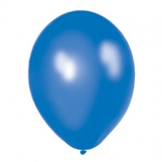 BALLOON pk100 12.5cm:rich blue