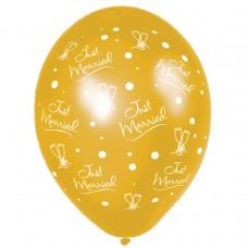 BALLOON 28cm:J.MRRD MDRN-Gold
