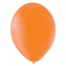 BALLOON pk100 12.5cm:j orange