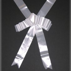 RIBBON:WEDDING CAR white