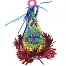 Happy Birthday Hat Balloon Weight
